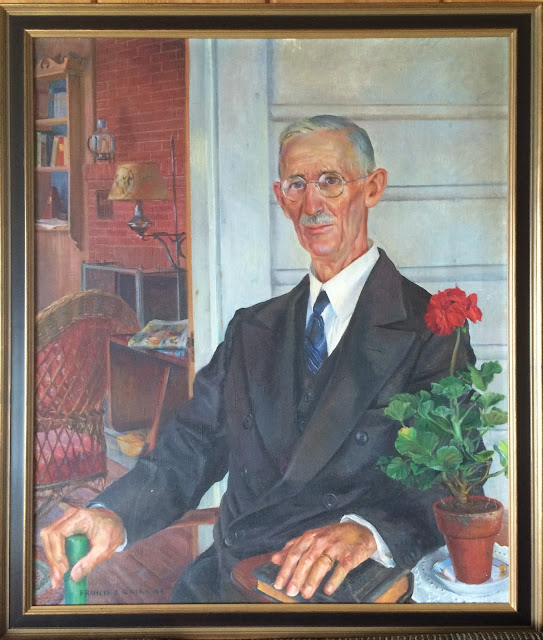 "Francis J. Quirk  portrait ""The Summer Pastor"""
