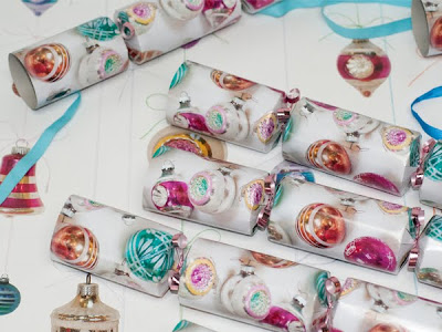 Vintage Baubles crackers by Ella Doran