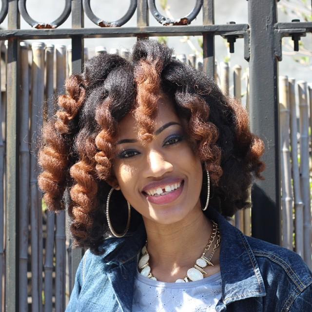 Nacketia From Jamaica Is Naturally Glam Curlynikki