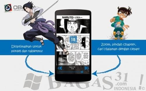 OBAMA, Aplikasi Baca Manga Bahasa Indonesia 3