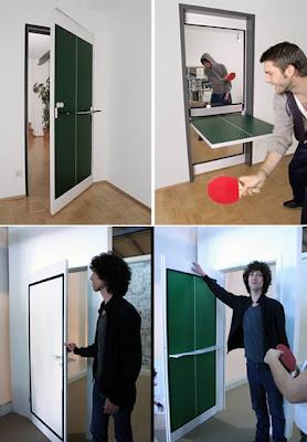 diseño puerta creativa