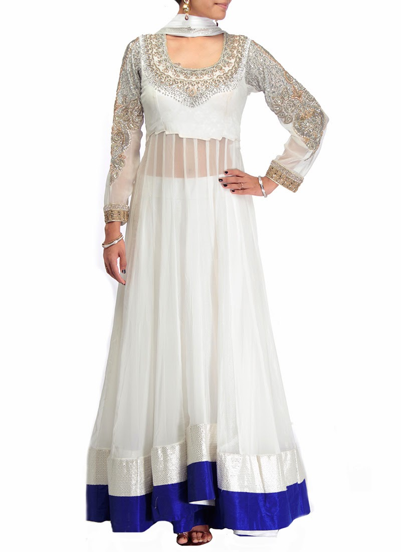 Ready Made Clothing : Superb ready made bollywood anarkali replica party wear