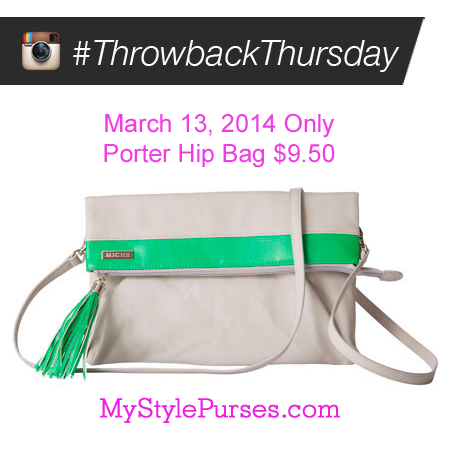 Miche Porter Hip Bag $9.50 - Throwback Thursday Day 3/13/14 ONLY | Shop MyStylePurses.com