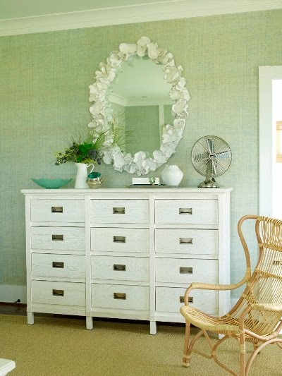 Meghan blum living in style october 2011 - Decorating a chest of drawers ...