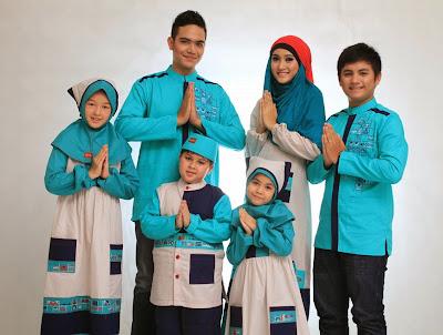 baju lebaran idul fitri keluarga