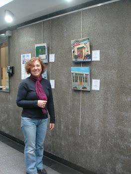 Realizé una exposición individual en la Universidad del Salvador