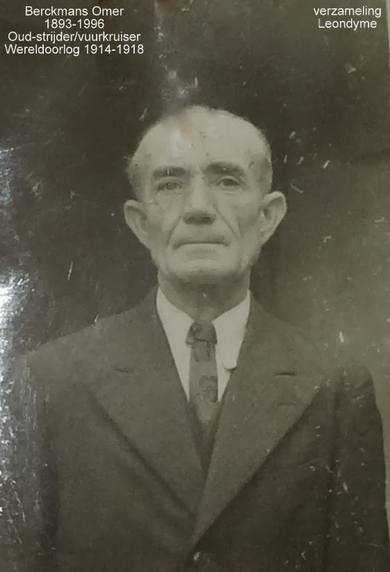 Omer Berckmans 1893-1996. Legerarchief Evere