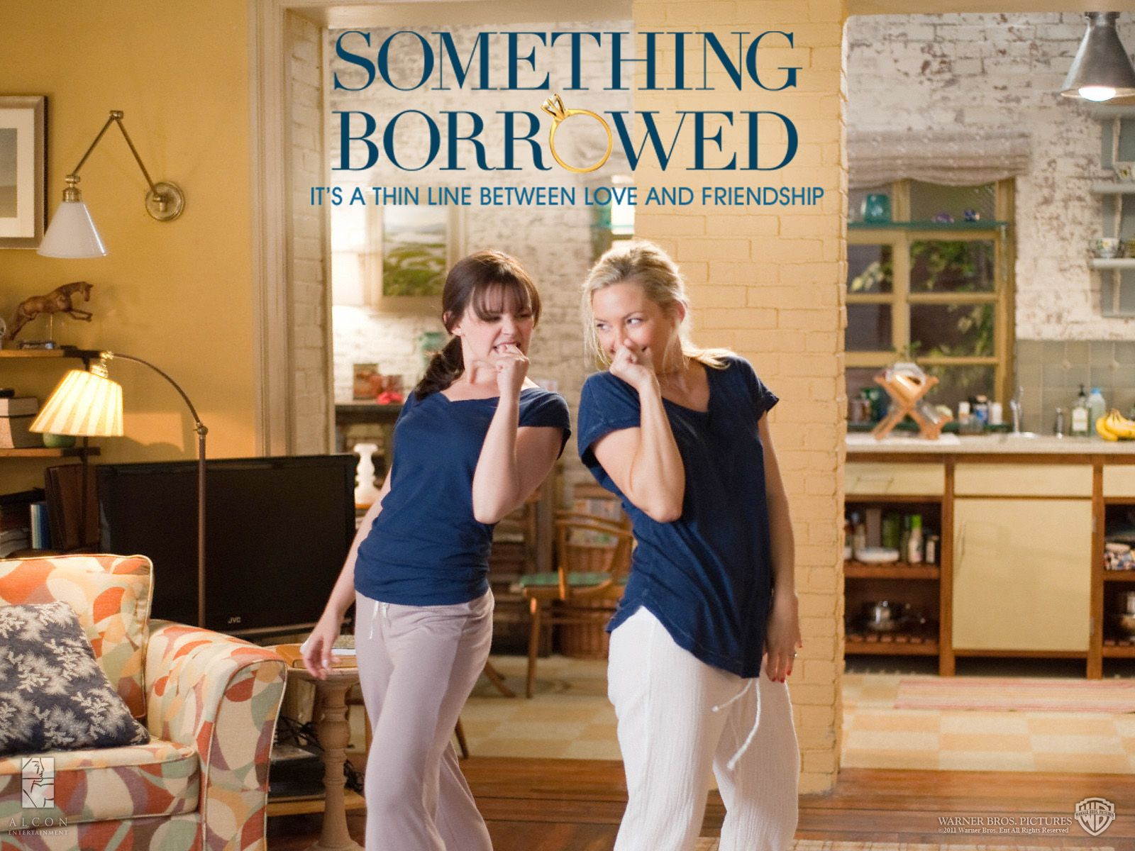 something borrowed It's one of the most well-known wedding traditions out there: a bride must wear something old, something new, something borrowed, and something blue on her wedding day for good luck the trope.