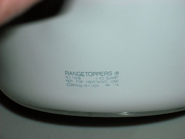 Corningware 411 Saucy Corningware Rangetoppers Quick
