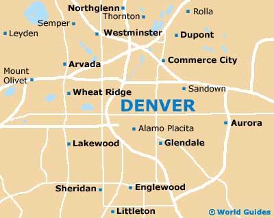 Coloradoan Boulder And Denver Center Of The Usa