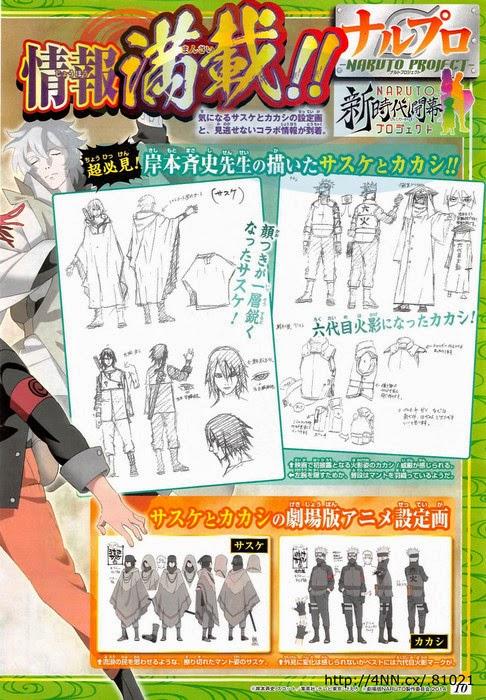 Sasuke Uchiha dan Kakashi Hatake