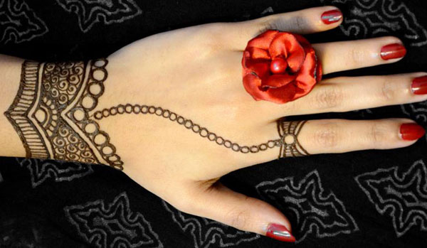 Mehndi Easy Design : Easy and simple mehndi designs for hands beginners guide