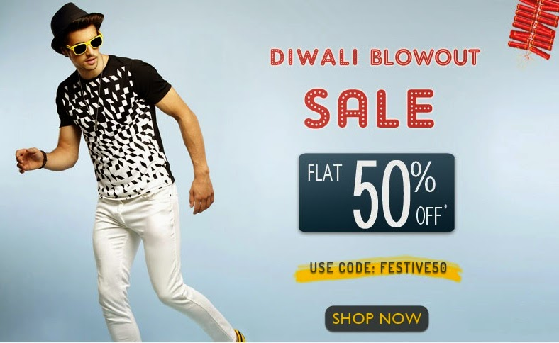 Diwali Deal Flat 50% Off on basicslife online store