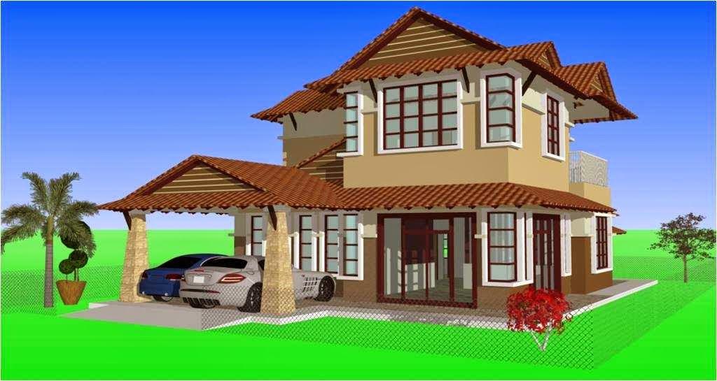 reka bentuk rumah modern terkini 2014