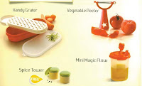 Tupperware food Preparations Set