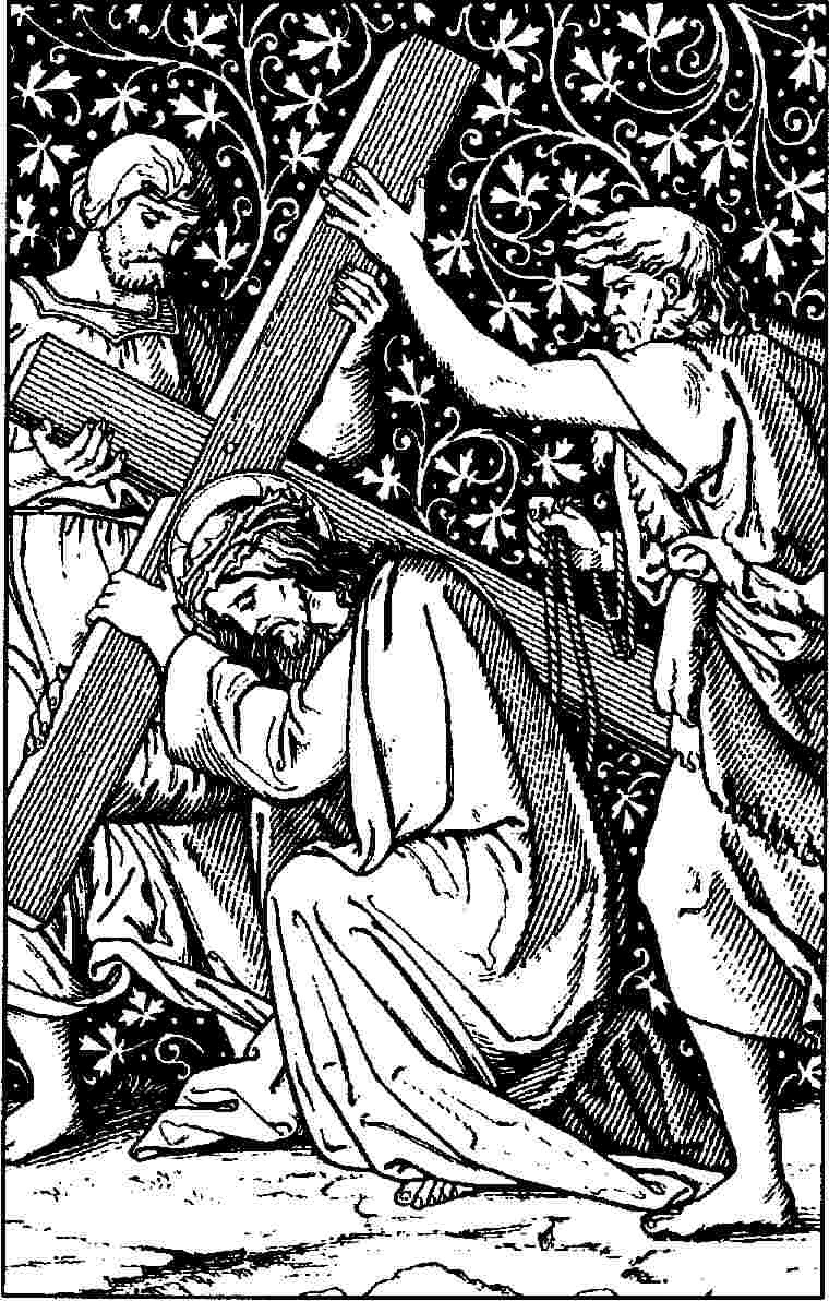 Line Art Cross : Another anglican line drawings stations of the cross