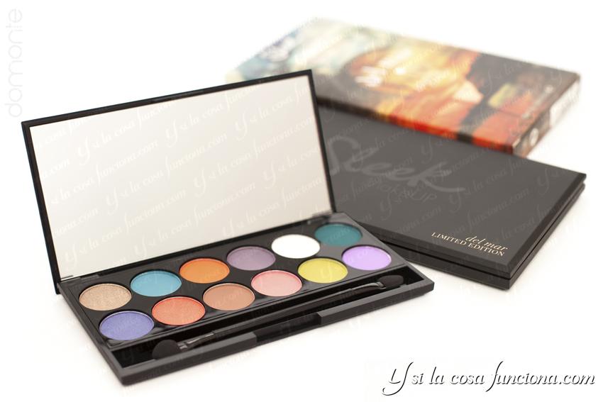 Packaging Paleta del mar VOLUME 1 Sleek