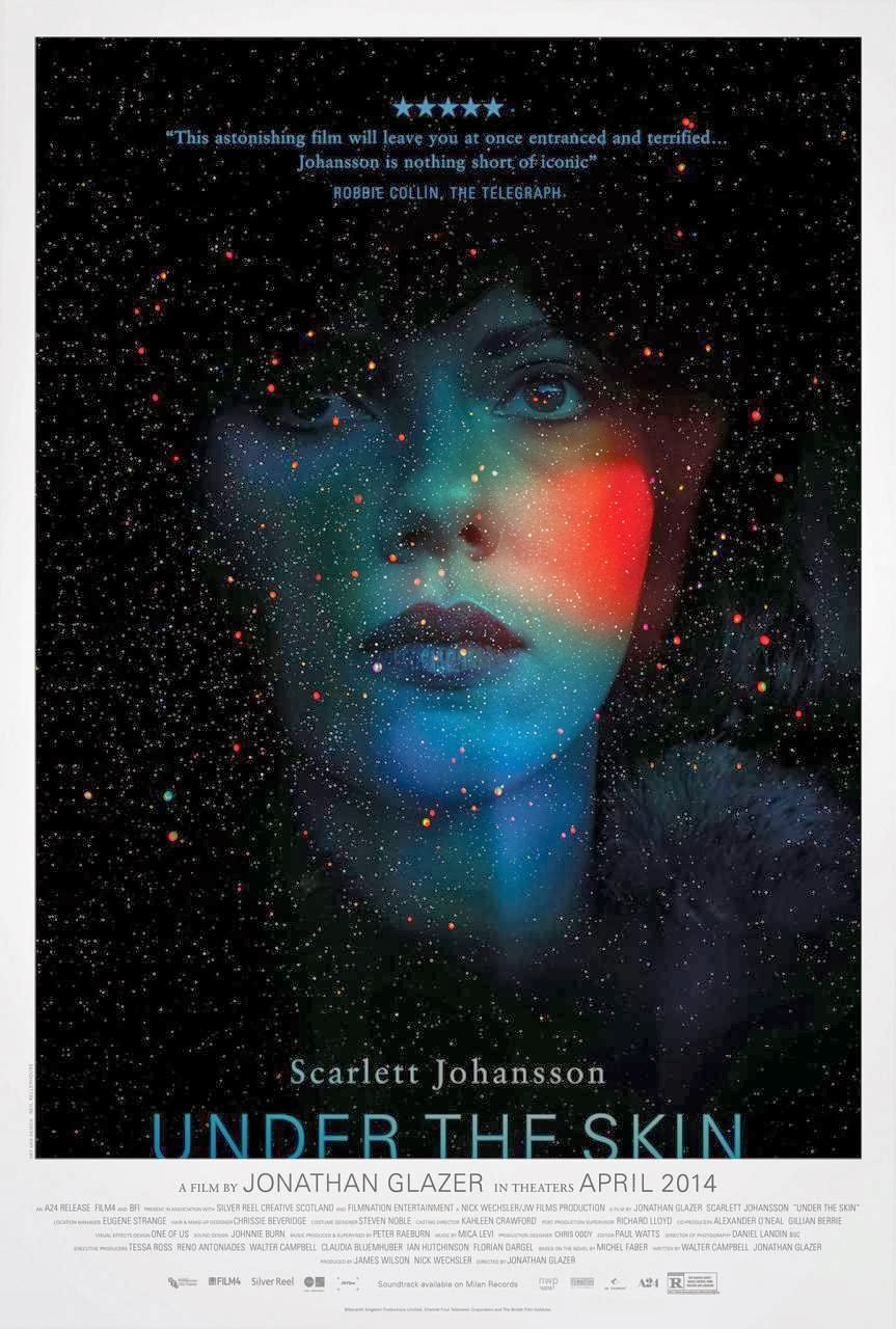 Under The Skin, trailer y cartel