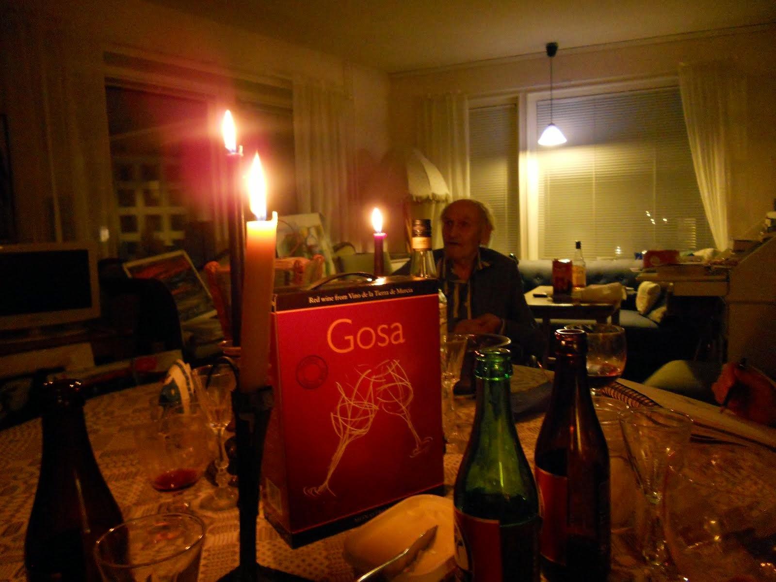 Finissage hemma hos Göte Hultqvist i Linköping
