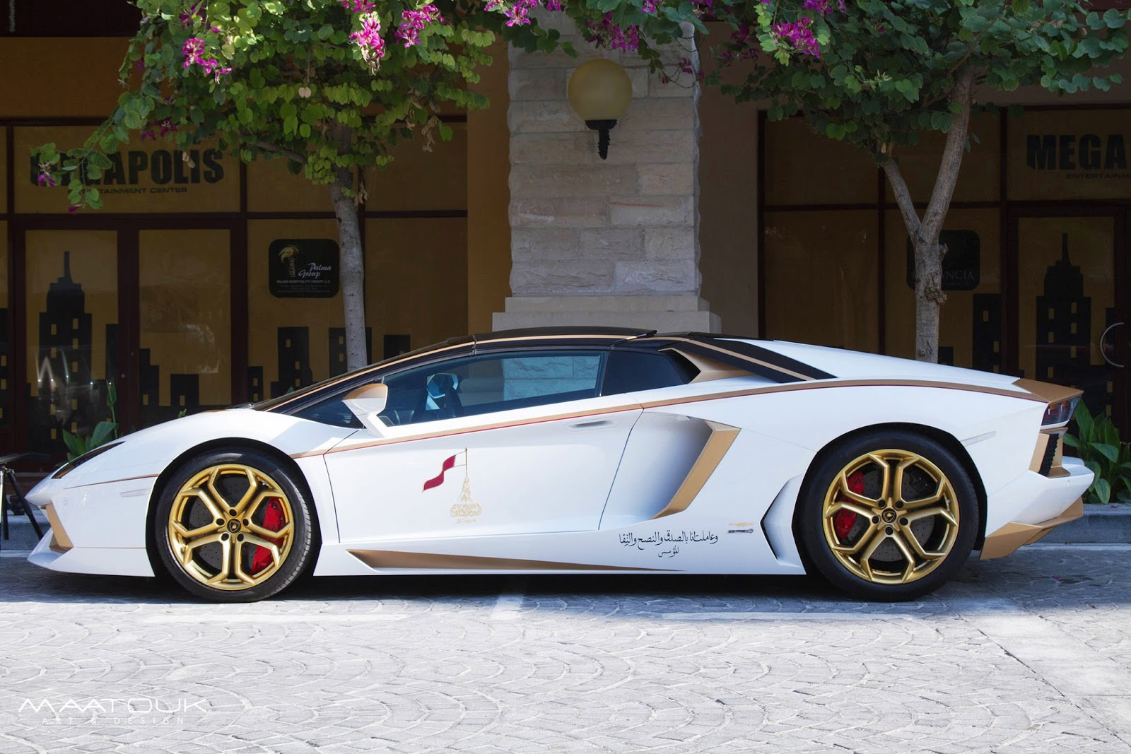 "Gold Plated Lamborghini Aventador is ""1 of 1"" [w/Video ..."