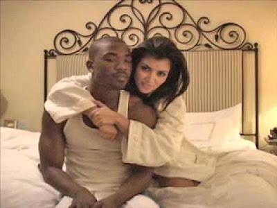 kim kardashian y su ex novio Ray J con el que hizo un video hot