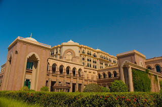 Emirates Palace Hotel in Abu Dhabi - UAE