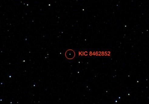 estrella KIC 8462852