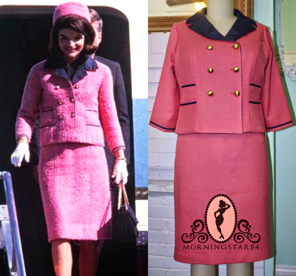Kennedy Jackie pink dress pictures