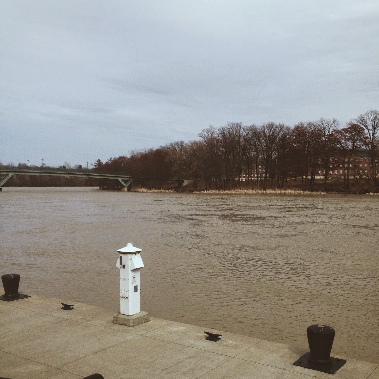 View of Genesee River in Rochester