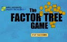 Factor tree game