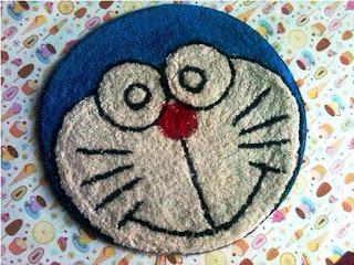 Gambar Keset Doraemon