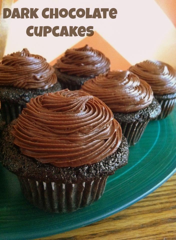 Dark Chocolate Cupcakes   Sugar for Breakfast: Dark Chocolate Cupcakes