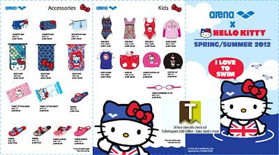 Arena Hello Kitty Sale 2012