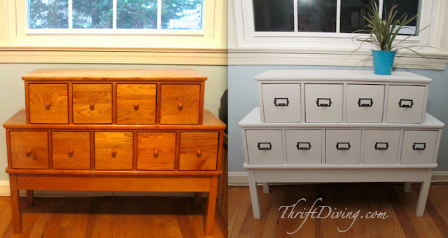 Before & After: CARD CATALOG