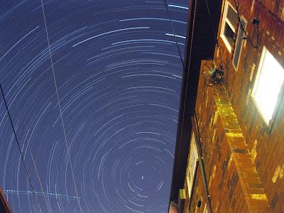 star trails in ohio
