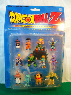 Collectible 12 Figures Dragon Ball Z Serie 2