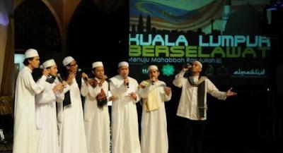 Gambar Kumpulan Nasyid Almawlid Menuju Mahabbah