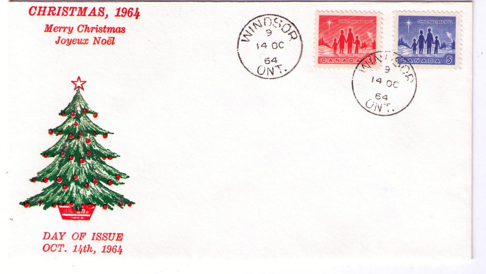 Postal History Corner: 1964 Christmas