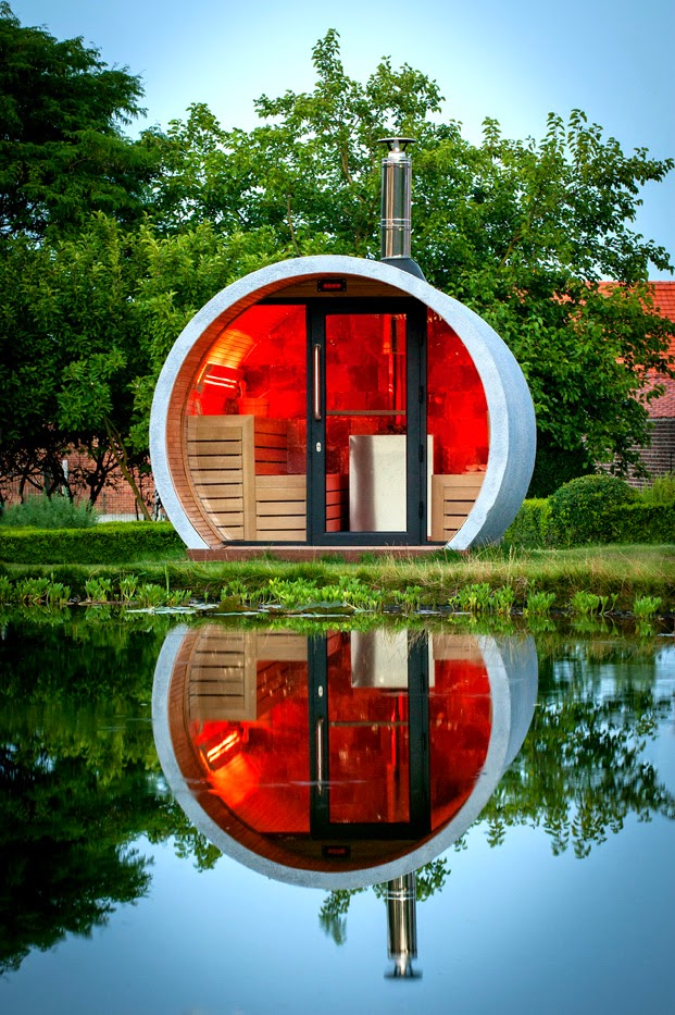 EOSK1 - Eclipse - Outdoor Sauna - Kurt de Keyser