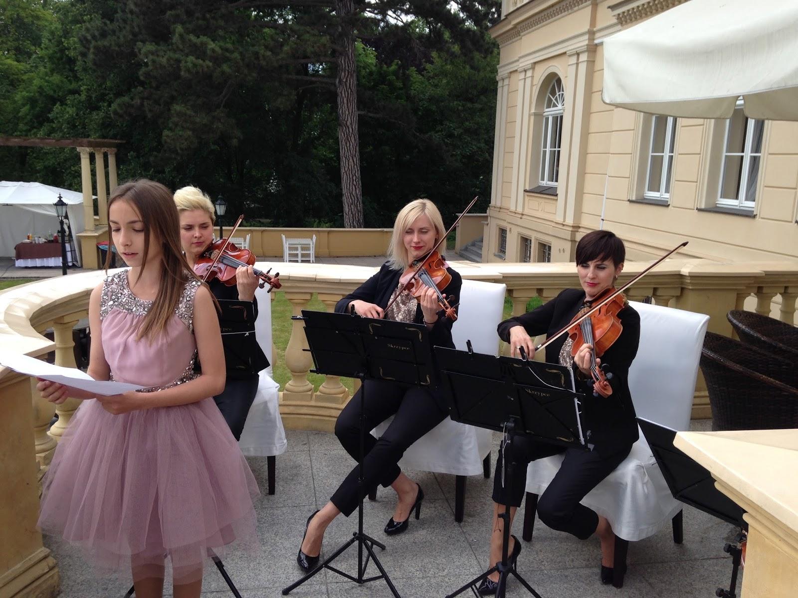 Kwartet Smyczkowy Prestige Hallelujah Ze Shreka Podczas ślubu