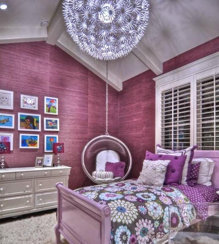 Decorar el Dormitorio con color Morado, Lila o Púrpura