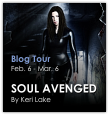 Blog Tour: Soul Avenged by Keri Lake {Interview & Giveaway}