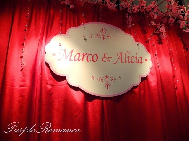 sakura, cherry blossom, shah alam, glenmarie, subang, selangor, wedding decoration, package, affordable, backdrop, stage, photo booth, photo viewing album table decoration, purple romance, purple collection, wedding event