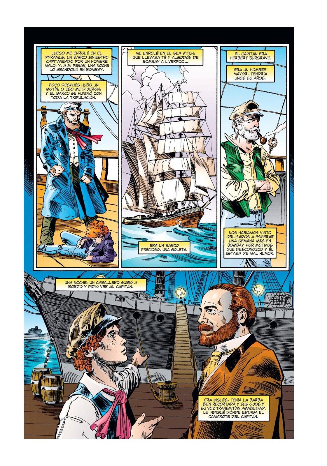 Capitan Cavernicola In English