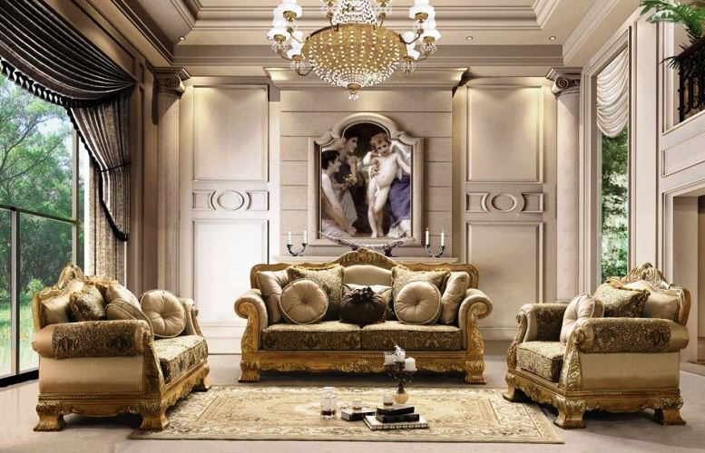 Modern Victorian Style Furniture Luxury Design Ideas For Living Room With Beauty Lighting
