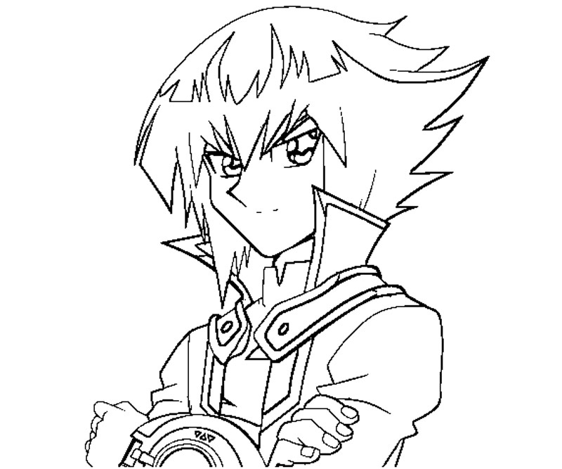 yugioh gx coloring pages - photo#6