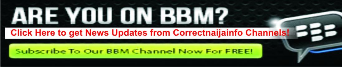Correctnaijainfo BBM info