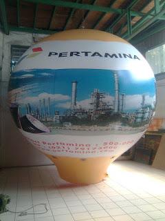 Balon Promosi PERTAMINA