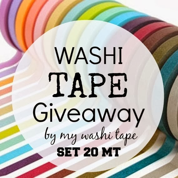Giveaway My Washi Tape