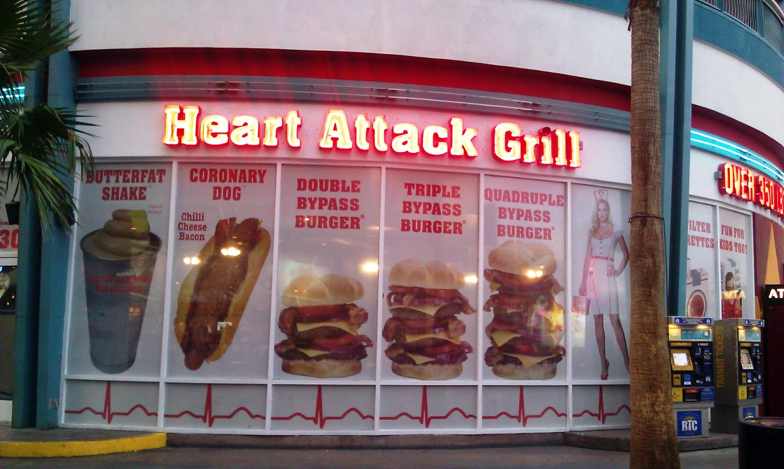 Heart Attack Grill - 1519 Photos & 903 Reviews - Burgers - 450 ...